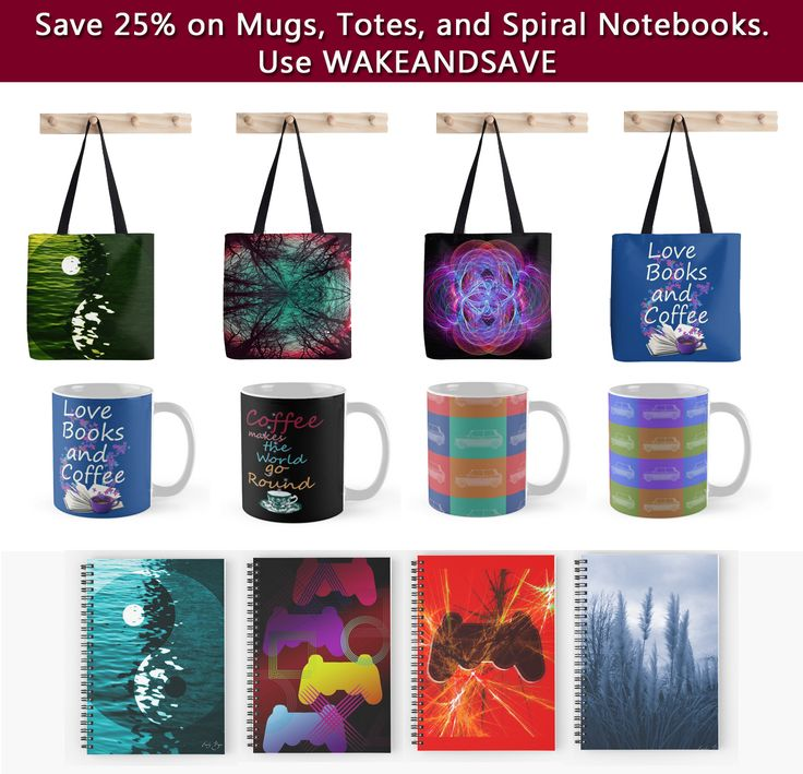 Save 25% on Mugs, Totes, and Spiral Notebooks. Use: WAKEANDSAVE #discount #save #sales #gifts #discountgifts #redbubble #ps3totebag #booklovers #coffeemugs #photography #ps3gaming #ps3 #minicoopermug #yinyang #yinyangmug #yinyangtotebag #yinyangnotebook