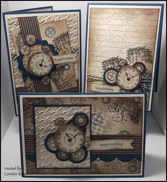 241 best masculine stampin up cards images on pinterest masculine kings on paddington clockworks trio stampin up bookmarktalkfo Gallery