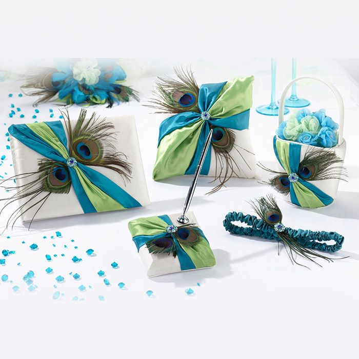 84 best matching wedding accessory sets images on pinterest peacock wedding collection junglespirit Images