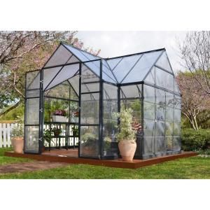 Palram Victory Orangery 10 ft. x 12 ft. Garden Chalet Greenhouse 702422 at The Home Depot - Mobile