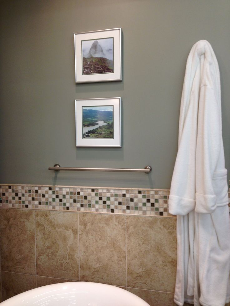 Paint Color For The Bathroom Quot Rushing River Quot By Sherwin