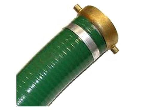 """Abbott Rubber 1240-2000-20 PVC Suction Hose, 2"""" x 20'"""
