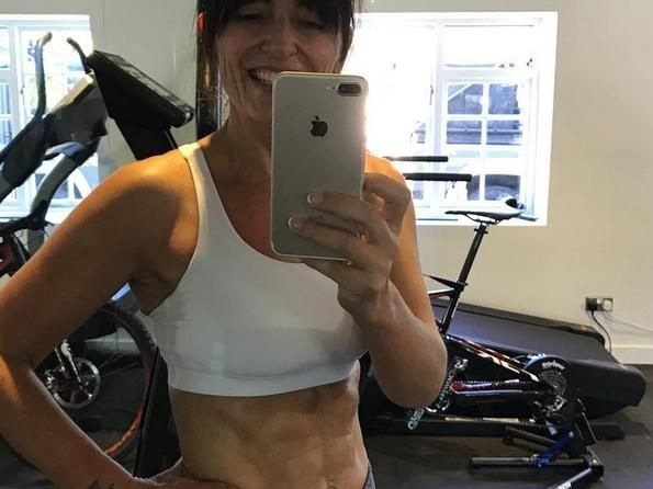 DAVINA MCCALL ON FITNESS, FOOD AND 'BEING IN THE BEST SHAPE EVER'