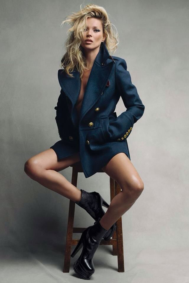 Kate Moss and the jacket