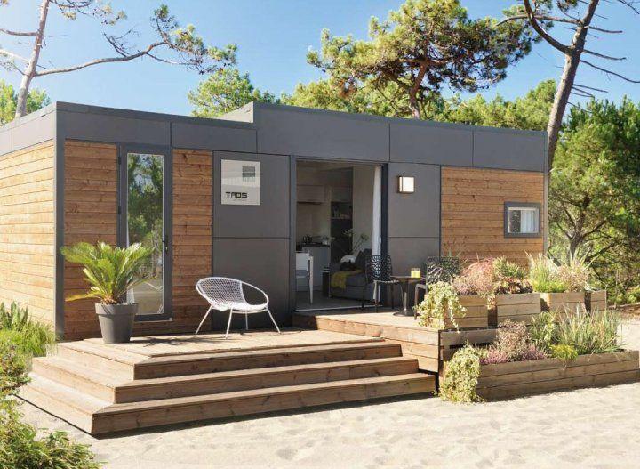 Oltre 25 fantastiche idee su case mobili su pinterest - Casa in legno economica ...