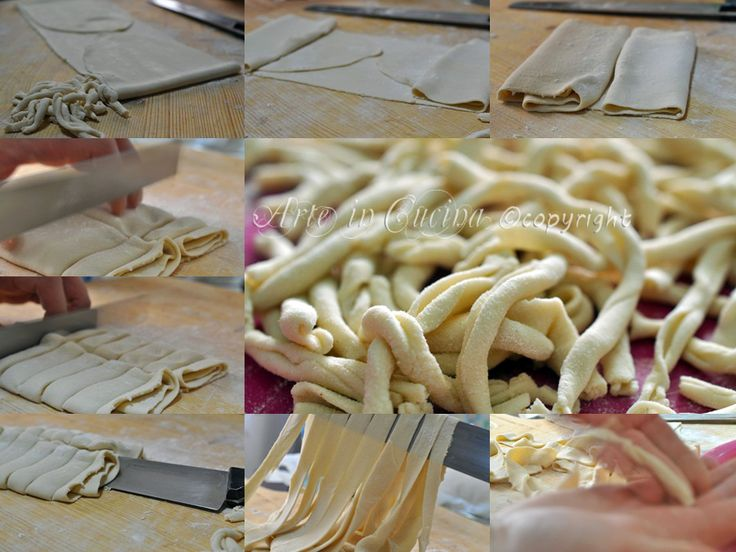 Strozzapreti emiliani fatti in casa, ricetta pasta fresca, senza uova, pasta fatta in casa, facile, veloce, strozzapreti fatti a mano, come fare la pasta in casa