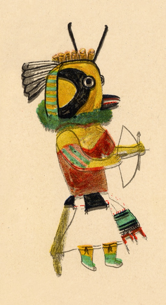 The 10 best Kachina Style images on Pinterest | Native american art ...