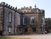 Auckland Castle (also known as Auckland Palace or locally as the Bishop's Castle or Bishop's Palace) is a castle in the town of Bishop Auckland in County Durham, England.