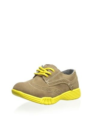 63% OFF Carter's Kid's Match-C Sneaker (Dark Khaki/Yellow)
