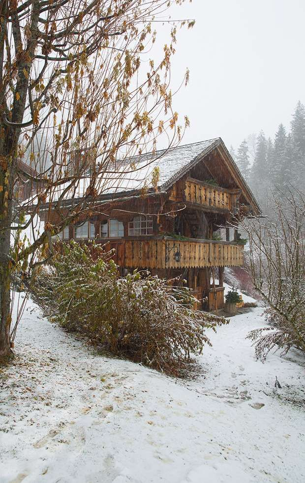 Historic Swiss chalet | Period Living