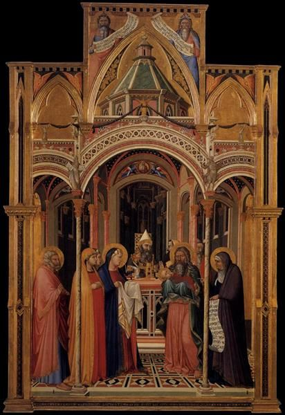 The Presentation in the Temple, 1342 - Ambrogio Lorenzetti