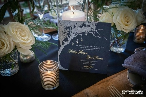 Inspired by the Berkshires - Tablescape design by Somethingfab.com  Invitations design by thepinkorange.com
