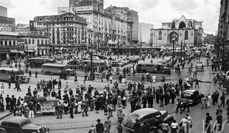 Praça da Sé, Hildegard Rosenthal_fotos_antigas_de_são_paulo