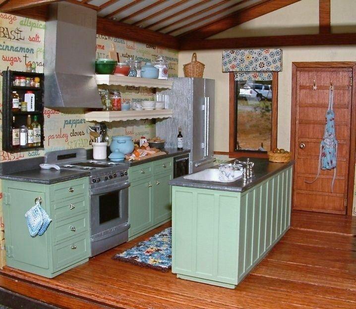 Miniature Kitchen: 274 Best Miniature Kitchens Images On Pinterest