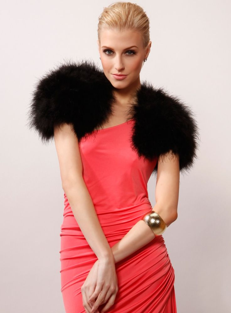 Feather Bolero. The perfect Bolero jacket to wear over your ...