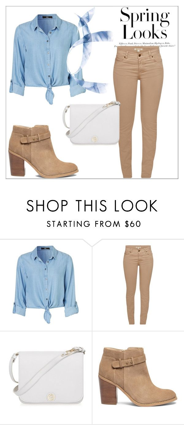 """Untitled #1273"" by water-element ❤ liked on Polyvore featuring Barbour, Furla, Sole Society and H&M"