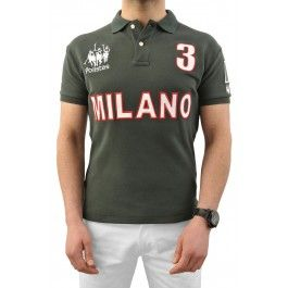 """Milano Polo Team - Forest Green £120.00- """"Best fitting polo shirt I've ever had"""" -Roddy Williams, England Polo Team"""