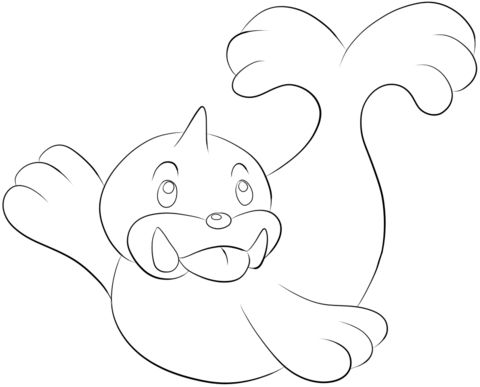 Click To See Printable Version Of Seel Coloring Page
