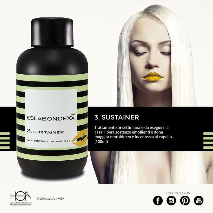 Eslabondexx system: e infine il numero  3, Sustainer #hair #hairstyle #haircolour #haircolor #fashion #style #longhair #curly #straight #black #brown #red #blonde #hairfashion #coolhair #bauty #nouvellecolor #hsacosmetics #silkycolor