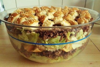 Big Mac Salat, ein beliebtes Rezept aus der Kategorie Party. Bewertungen: 631. Durchschnitt: Ø 4,6.