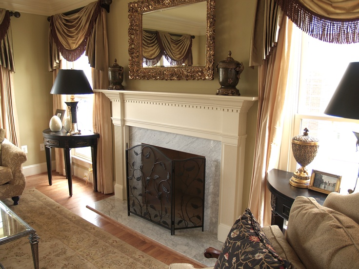 22 Best Images About Wood And Stone Mantels On Pinterest