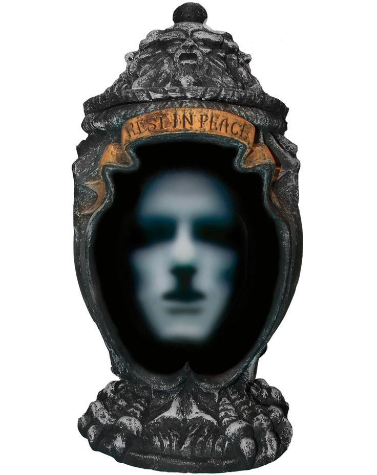 haunted ash urn propspirit just may need to pick this up for this years haunted house