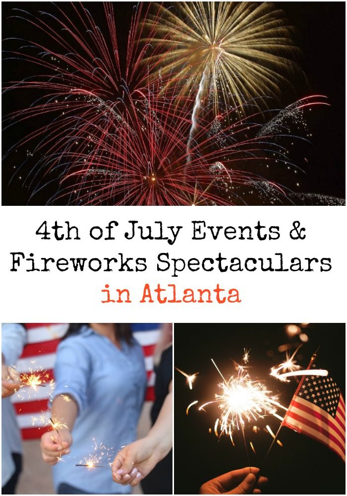 Wondering where to find fireworks in Atlanta this year? Here's a complete list of 4th of July Events and Fireworks Spectaculars in the Atlanta Metro Area.