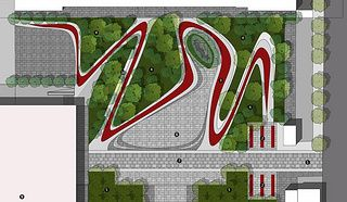 INCN★景观〓时代采集到景观平面〓 Landscape plane