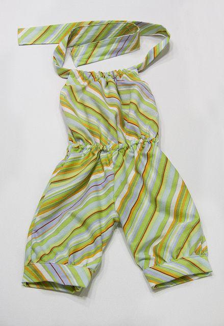 Tutorial-Romper I wish I could sew