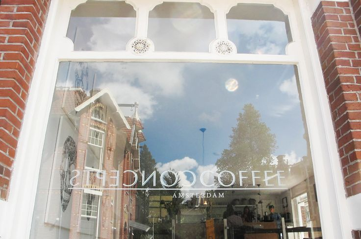 Coffee corner, art gallery and marketing- communications agency in one! Coffee concepts is a brand new formula based in the Old South of Amsterdam and founded by three mega hip girls. http://www.coffeeconcepts.co