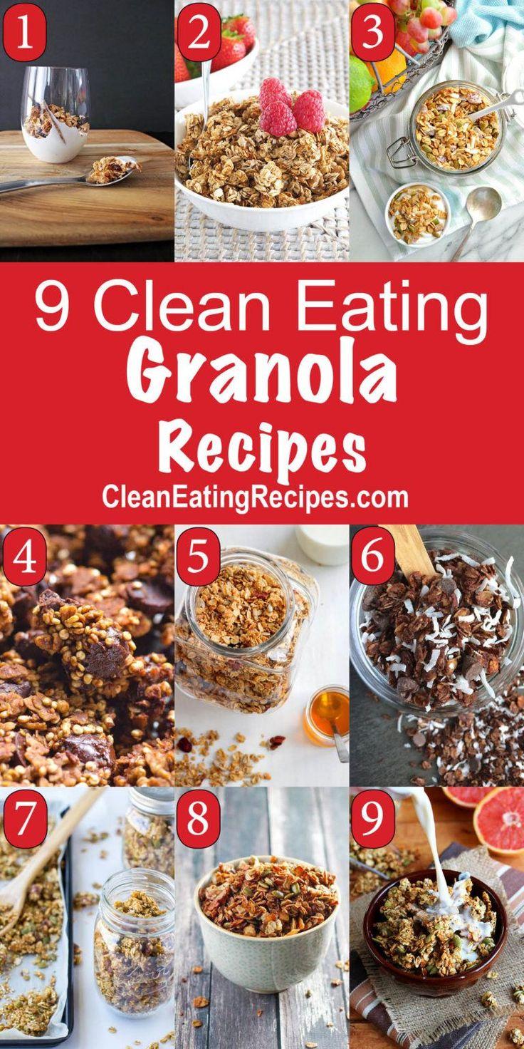 Clean Eating Granola Recipes