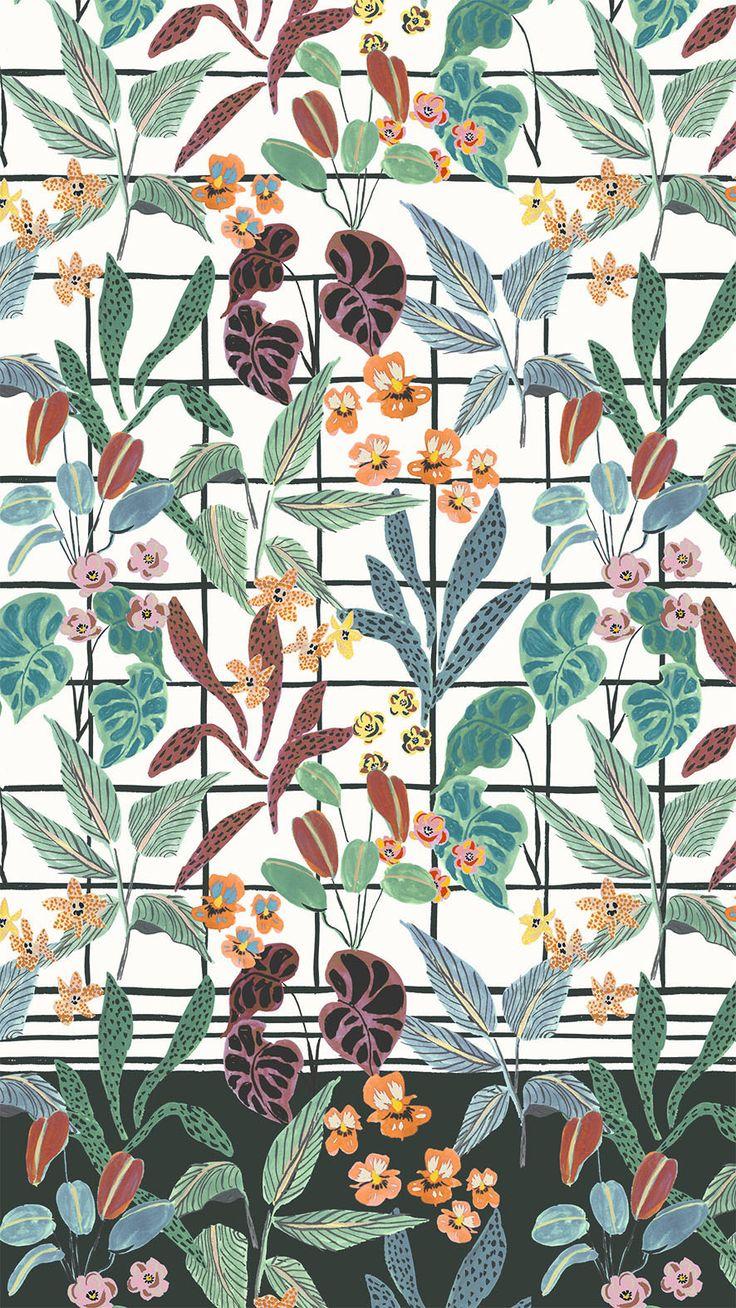winter garden floral - irina muñoz clares | fashion graphics + illustration