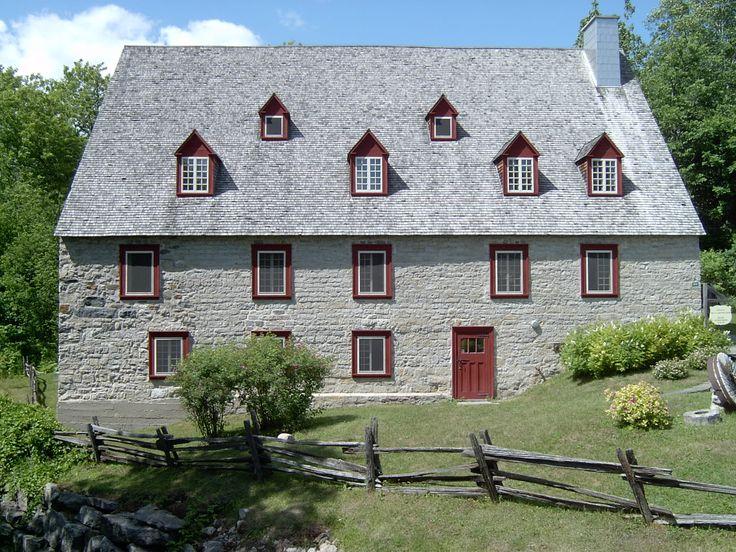 Le moulin de La Chevrotière à Deschambault-Grondines.
