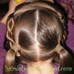 Hairdo How-to: Lesson 25: Hawser rope (twist braid)
