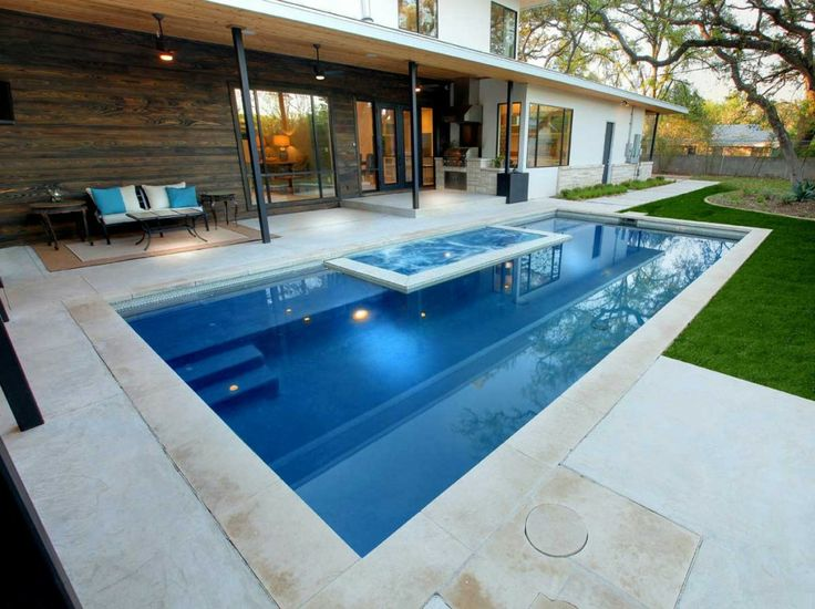 65 best images about our pools on pinterest fire pits ux ui designer and raised planter beds - Outdoor swimming pool designs ...