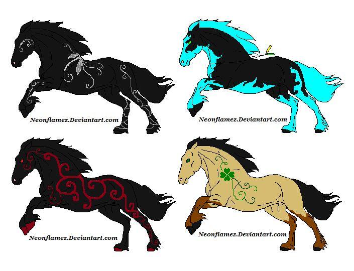 devaint art horse adoptables | Horse Adoptables All Sold
