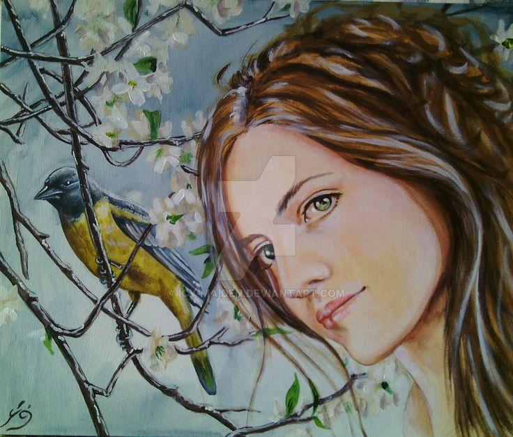 Vana signora della primavera by icy-maiden