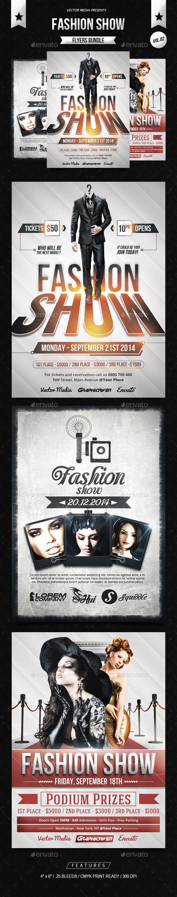 Fashion Show - Flyers Bundle [Vol.02]