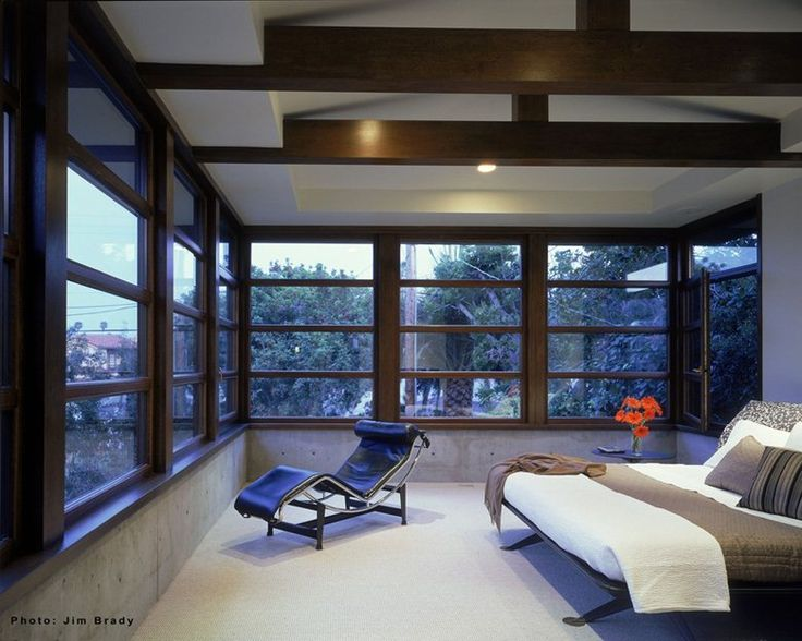 Residenza privata con finestre Albertini Wis'A in legno Meranti, San Diego, 2005 - ALBERTINI