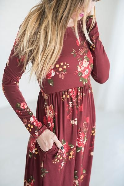Lydia Floral Dress