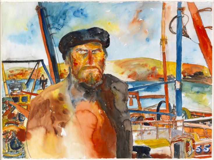 Self Portrait, Kinlochbervie by John Bellany CBE RA HSRA