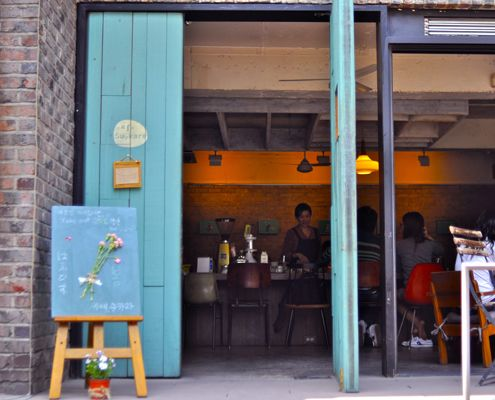 Meagan Mastriani continues her quest to find café-perfection in the city of Seoul.