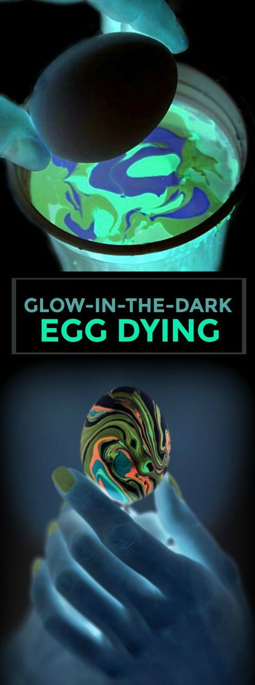 This egg-dying technique will leave your kids in awe!  A must-try!