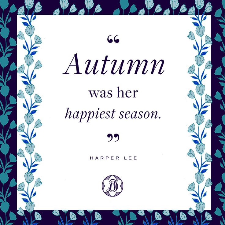 Harper Lee quotes about autumn