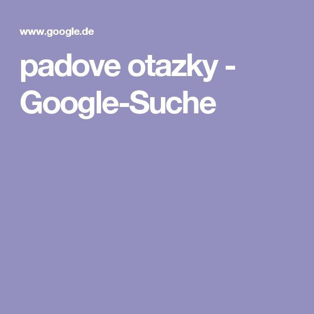 padove otazky - Google-Suche