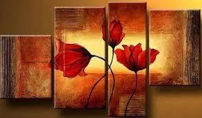Resultado de imagen para cuadros modernos de flores