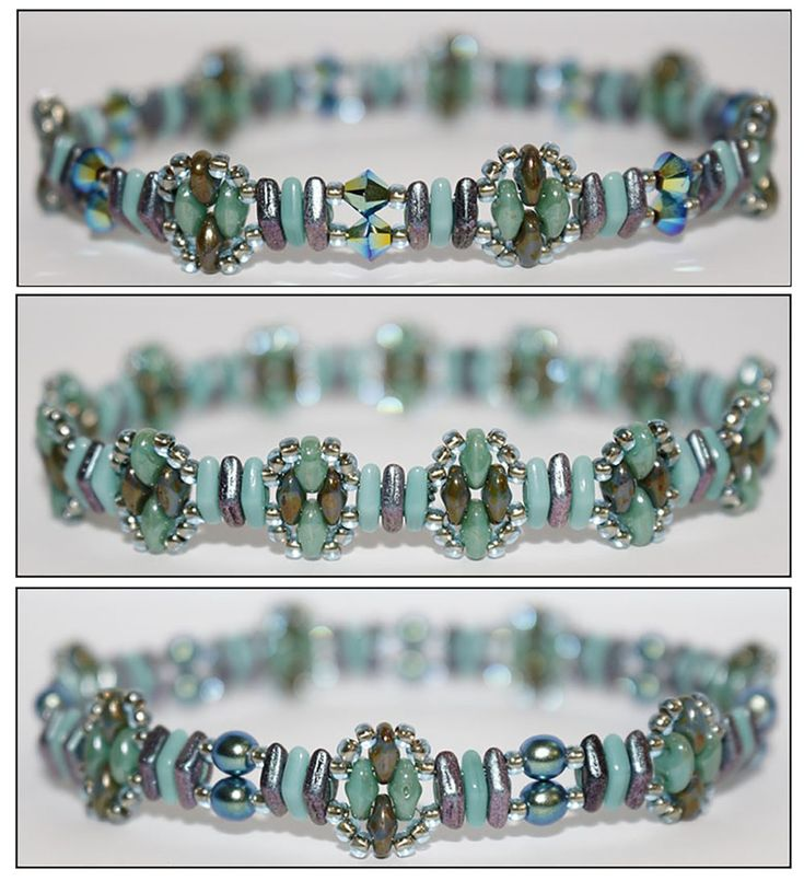 Deb Roberti's CzechMates Diamond Stacker Bracelet
