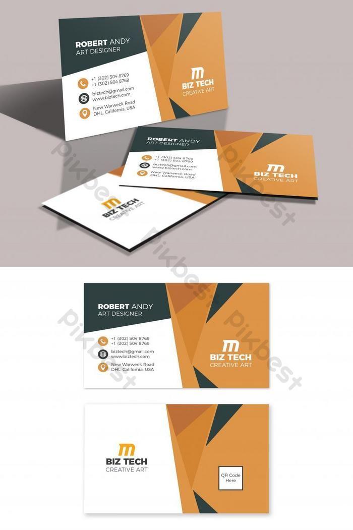Modern Vector Business Card Template Ai Free Download Pikbest Business Cards Vector Templates Vector Business Card Business Card Template