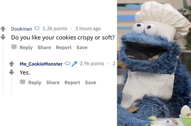 Cookie Monster Just Did A Reddit AMA And It's So Pure I