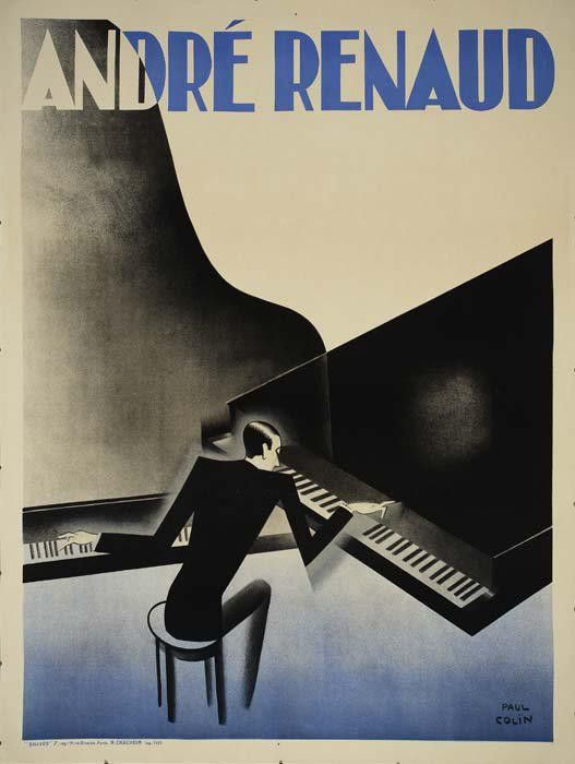 Andre Renaud by Paul Colin French artist who captured the Jazz Age